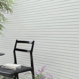 Фасадные линеарные панели Kmew